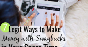 Is Swagbucks legit? Our Sawgbucks review shares 7 different ways you can make money with the app to help you make extra money in your spare time.
