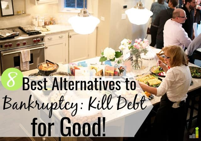 The best alternatives to bankruptcy let you kill debt without ruining your credit. Here are the 8 best ways to avoid bankruptcy and get back on track.