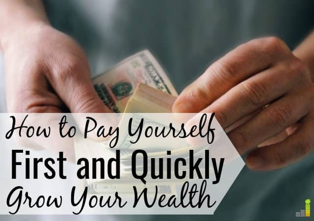 Want to know how to pay yourself first? It's very easy. Our guide shows how much you should pay yourself to prepare long-term for what you want.