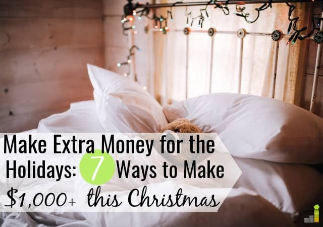 Side hustles are a great way to make extra money for Christmas. Here are the 7 best ways to earn extra money for the holidays to pad your budget.
