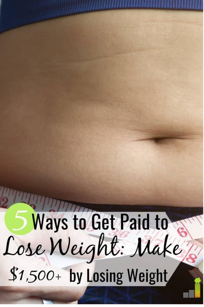 You can get paid to lose weight to start the New Year! Here are the 5 best apps that pay you to lose weight and help you make money on the side and get fit.
