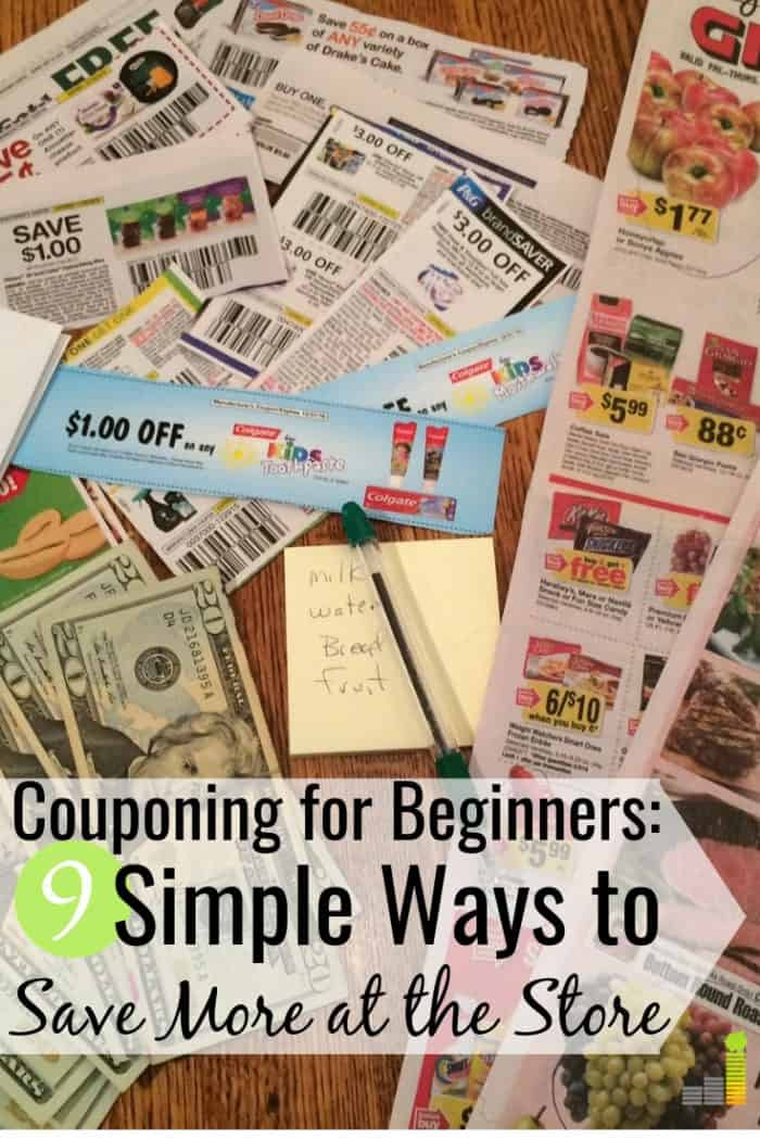 Couponing for beginners doesn't have to be difficult. I share the 9 best coupon apps for beginners to save money on groceries and other needs for your home.