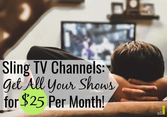 picture about Spectrum Tv Channel Guide Printable named Sling Television Programs 2019: Total Channel Lineup - Frugal Suggestions