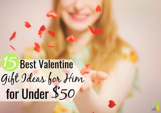 It can be hard to come up with Valentine gift ideas for him on a budget. Here are 15 of the best Valentines gifts for him for under $50 any man will love.