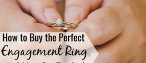 How much should you spend on an engagement ring? Here's what to know when buying an engagement ring and how to avoid debt in your new life together.