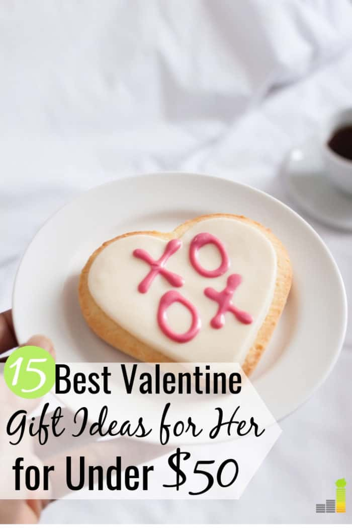 It can be hard to come up with Valentine gift ideas for her on a budget. Here are 15 of the best Valentines gifts for her for under $50 any woman will love.