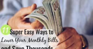 You can lower your monthly bills in many ways. We share the common monthly bills list and 11 easy ways to reduce expenses each month and keep more money.
