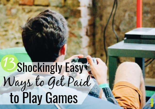 You can get paid to play games online in your free time as a legit way to make extra money. Here are the 13 best ways to get paid real money to play games.