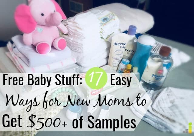 You can get free baby stuff to help save on raising your child. Here are the 17 best ways to get free baby samples by mail and in-store to save big money.