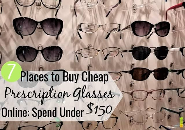 You can buy cheap glasses online for much less than a store. Here are the 7 best places to buy cheap prescription eyeglasses online and save 50% or more.
