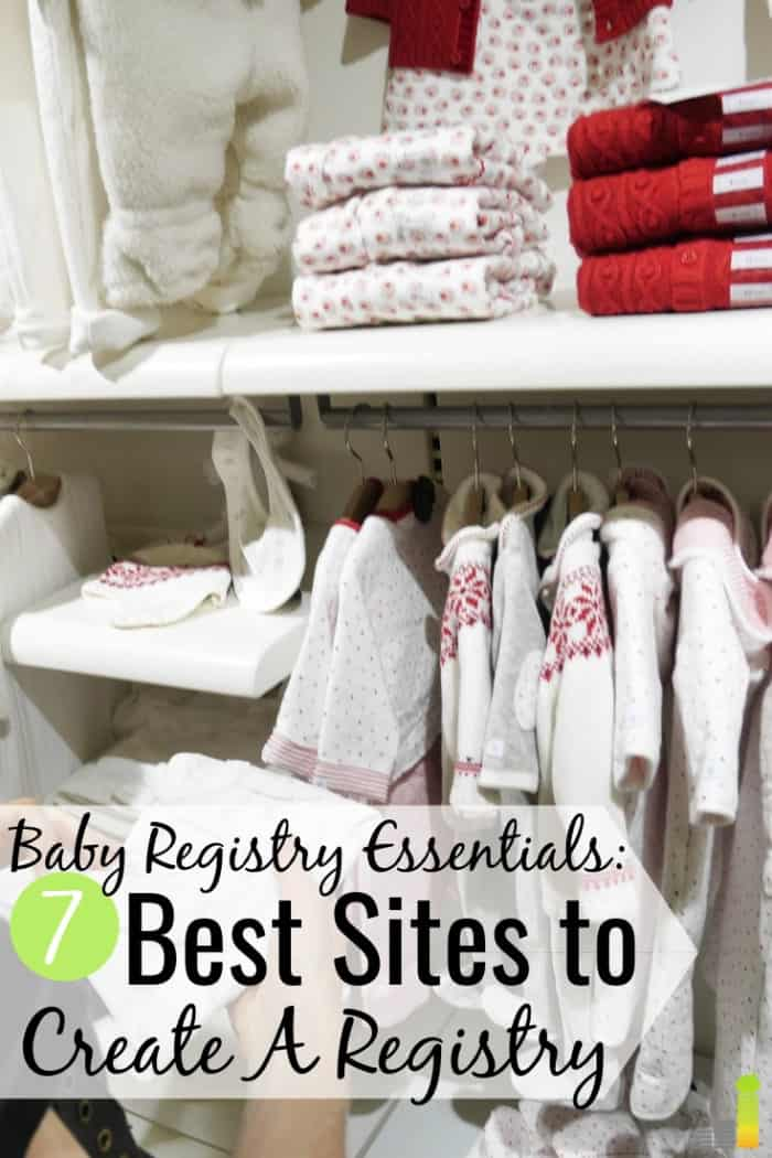 The best baby registry sites help save money on your baby. Here are the 7 best places for a baby registry and the items you should include on your list.