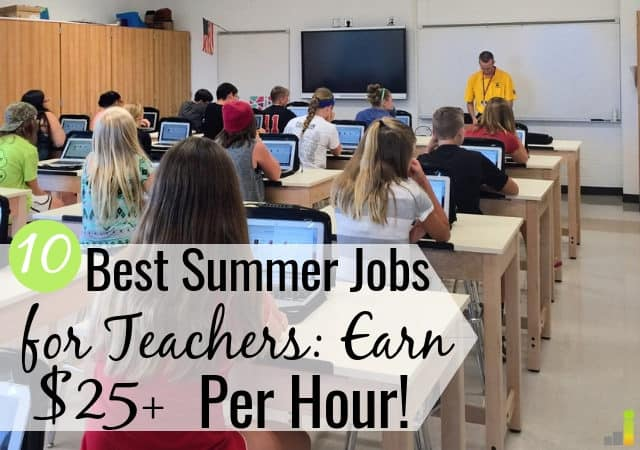The best summer jobs for teachers help you supplement income. We share the 10 best side hustles for teachers to make money, some with no skills required!