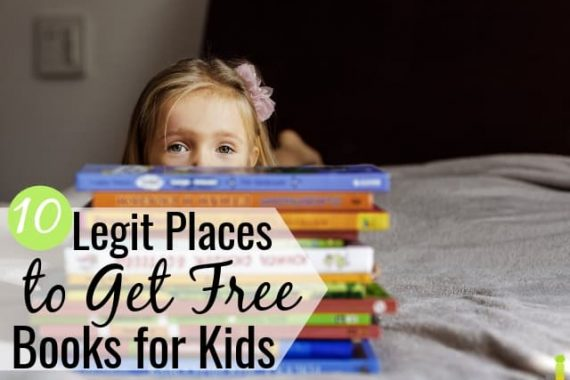 You can get free kids books in many ways. We share the top ten ways to get free children's books so your child can enjoy reading at no cost.