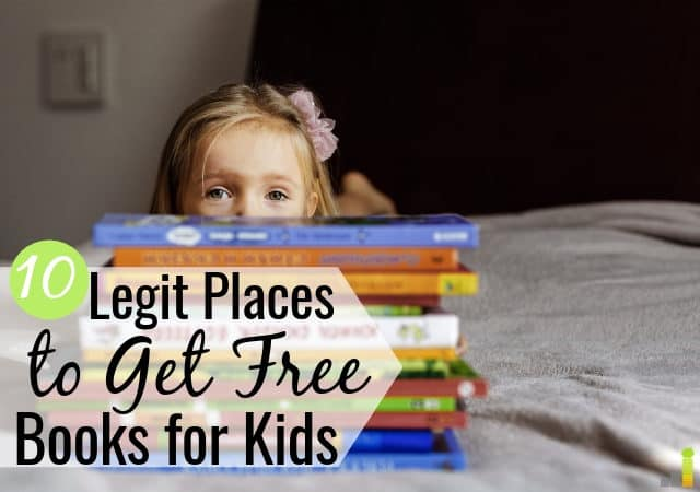 Top 10 Ways To Get Free Books For Kids Frugal Rules
