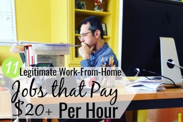 11 Legitimate Work-From-Home Jobs That Pay $20+ Per Hour ...