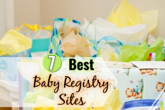 The best baby registry sites help save money on your baby. Here are the 7 best places for a baby registry and items to put on your list.