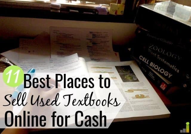 Are you looking for the best places to sell textbooks online to make more money? We share the 11 top sites to sell back textbooks to maximize return.