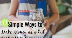 It's possible to make money as a kid and learn the value of a dollar. We share 11 ways to make money as a child that encourage creativity and hard work.