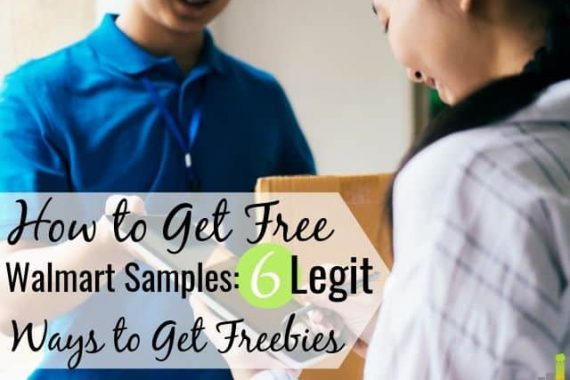 You can get free Walmart samples to save money. Here are 6 legit ways to get free samples from Walmart to learn about new products and stretch your budget.