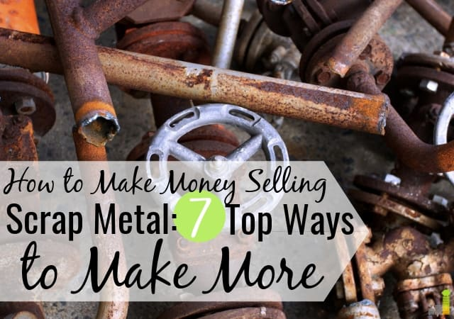 Who Buys Cars Near Me >> Scrap Yard Near Me: 7 Ways to Get More Cash for Your Metal - Frugal Rules