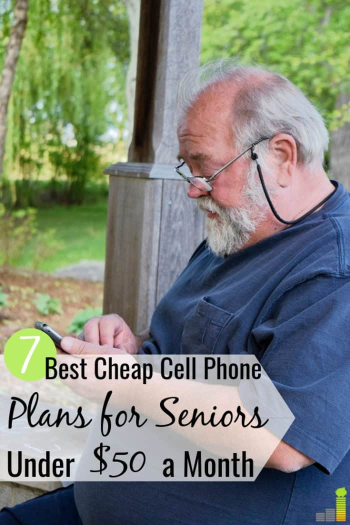 The best cell phone plans for seniors save money and help them stay connected. We share 7 cheap cell plans for seniors that are under $50 per month.