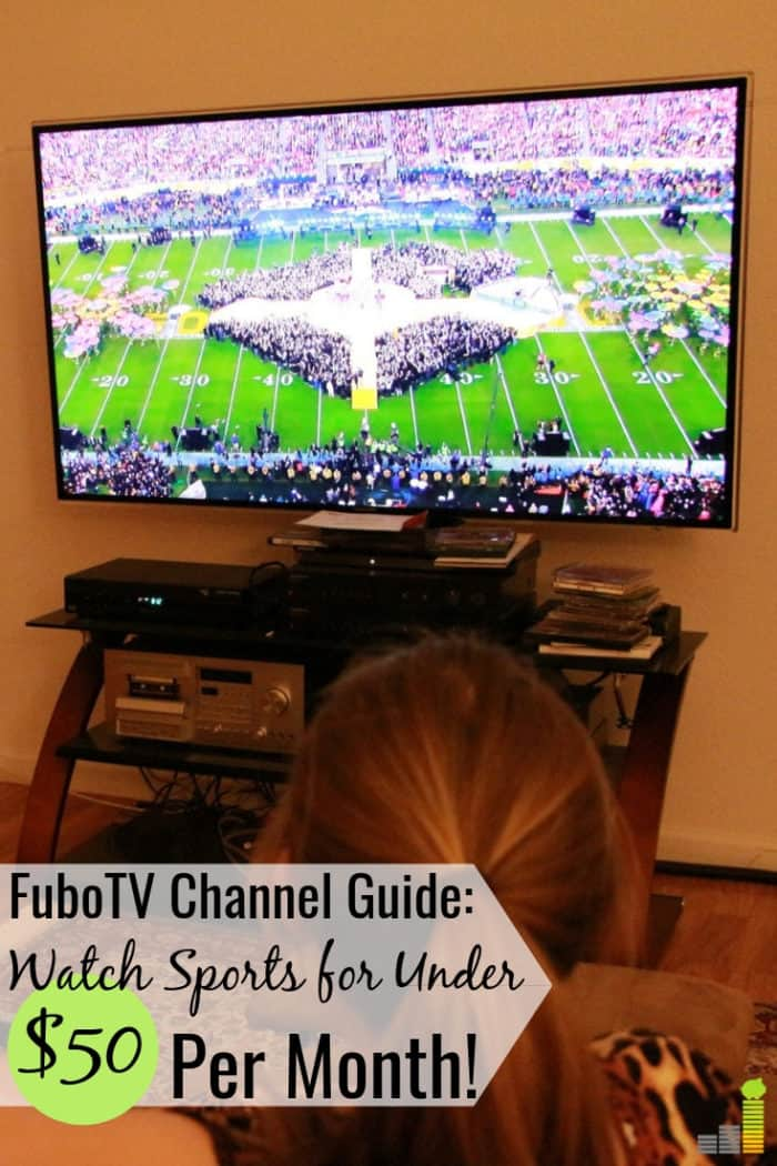 The FuboTV channels list has 80+ channels to get your favorite sports action. Our FuboTV channel guide shows how to save $50+ per month on your cable bill.