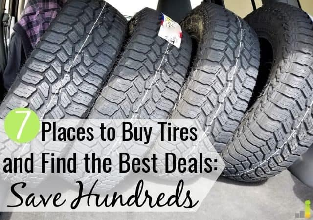 The best places to buy tires simplify the buying process. Here are the 7 top places to buy tires and how to find the best tire deals online to save money.