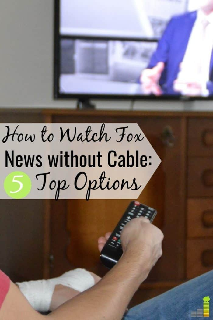 How to Watch Fox News Without Cable - Frugal Rules