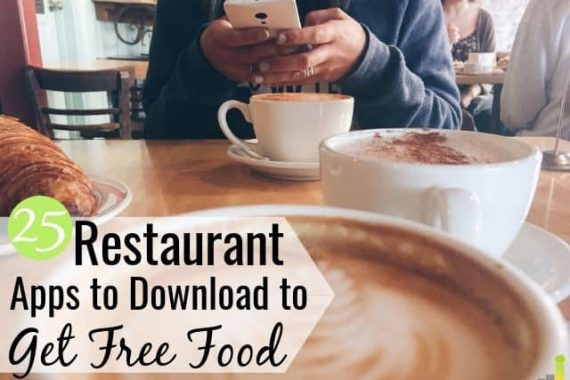 The best free food apps let you save money with little effort. Here are the 25 top apps that give you free food and help you save money eating out.