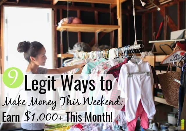 You can make money on the weekends in many ways. Here are the 9 best ways to make money this weekend with little skill to help you reach your goals.