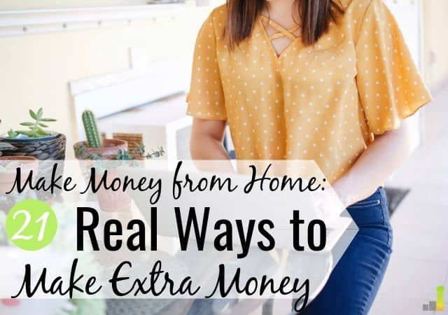 21 Real Ways to Make Money From Home - Frugal Rules