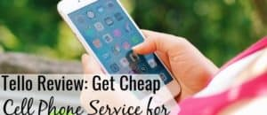 Tello is one of the best cheap cell phone plans available. Read our Tello review to see how their promo code gets you service for under $20 per month.