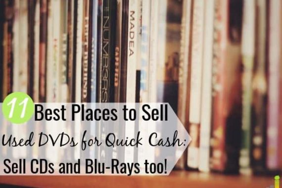 You can sell used DVDs online to make cash decluttering your house. Here are the 11 best places to sell used DVDs online or locally for top dollar.