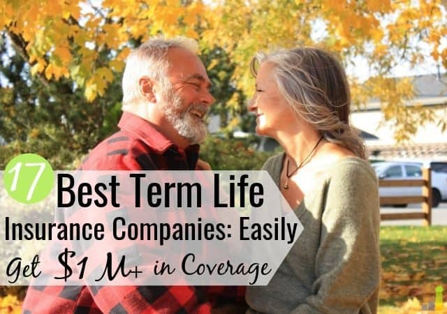 The best term life insurance companies make buying coverage easy. Here are the 17 best rated life insurance companies to buy a cheap term life policy.
