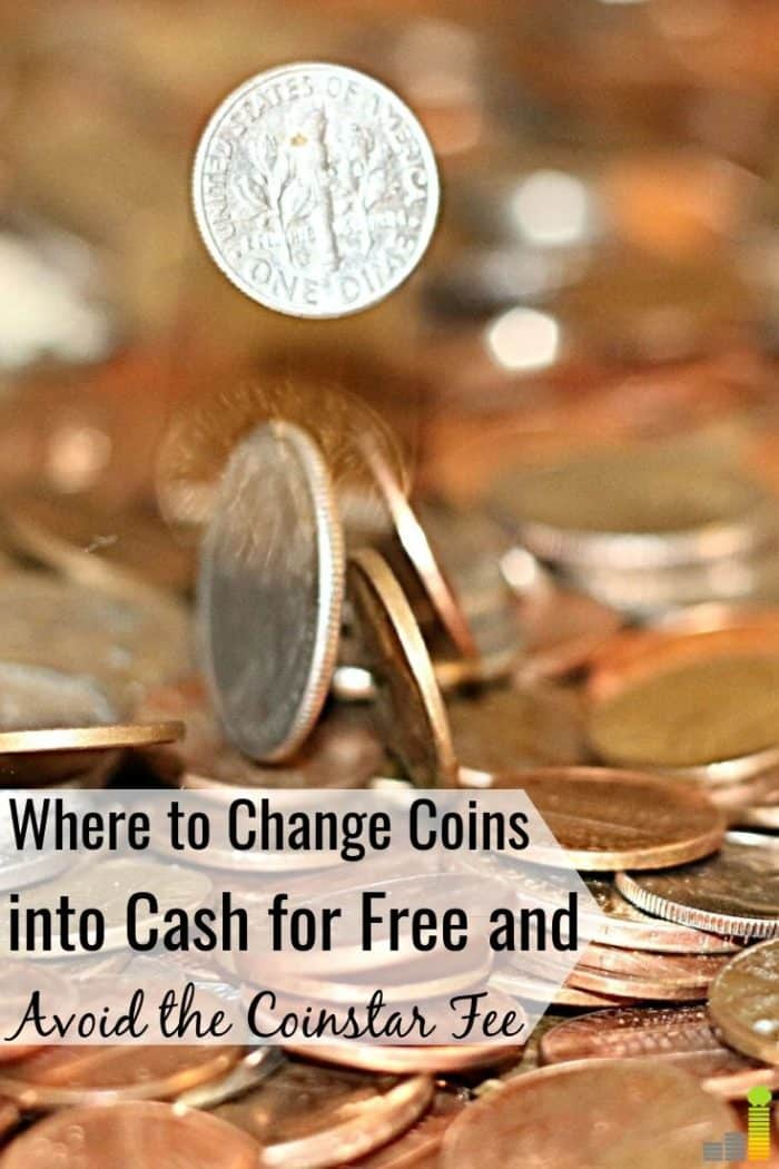 You can change coins into cash for free with little work and save money. Here are the best places for free counting and avoid the Coinstar fee.