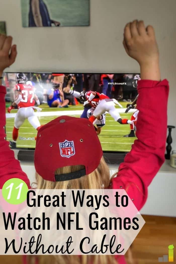 How to Watch NFL Games Without Cable - Frugal Rules
