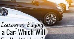 Leasing vs. buying a car is not an easy decision to make. We discuss the benefits of buying a car vs. leasing and how to save money in the process.