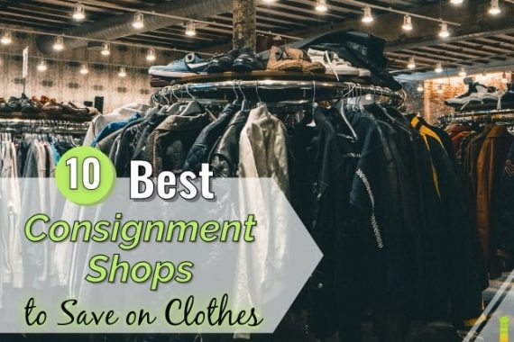 Looking for the best consignment shops? Here are the ten best consignment stores, locally and online to save or make money selling clothes.