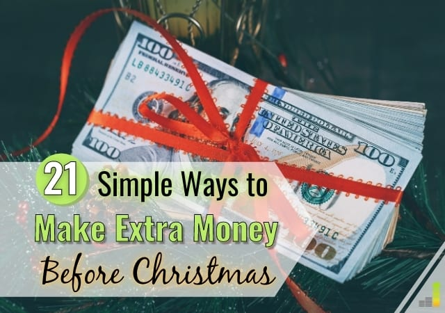 Want to make extra money before Christmas but don't know how? Here are 21 ways to earn extra money before the holidays with little to no skill.