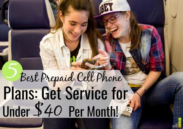 The best prepaid cell phone plans let you get service for under $50 a month. Here are the 5 top affordable cell plans that offer good service at a low cost.
