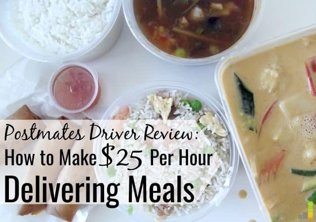 Working for Postmates is a great way to supplement income. Our review shares how to make money with Postmates and earn up to $25 per hour delivering meals.