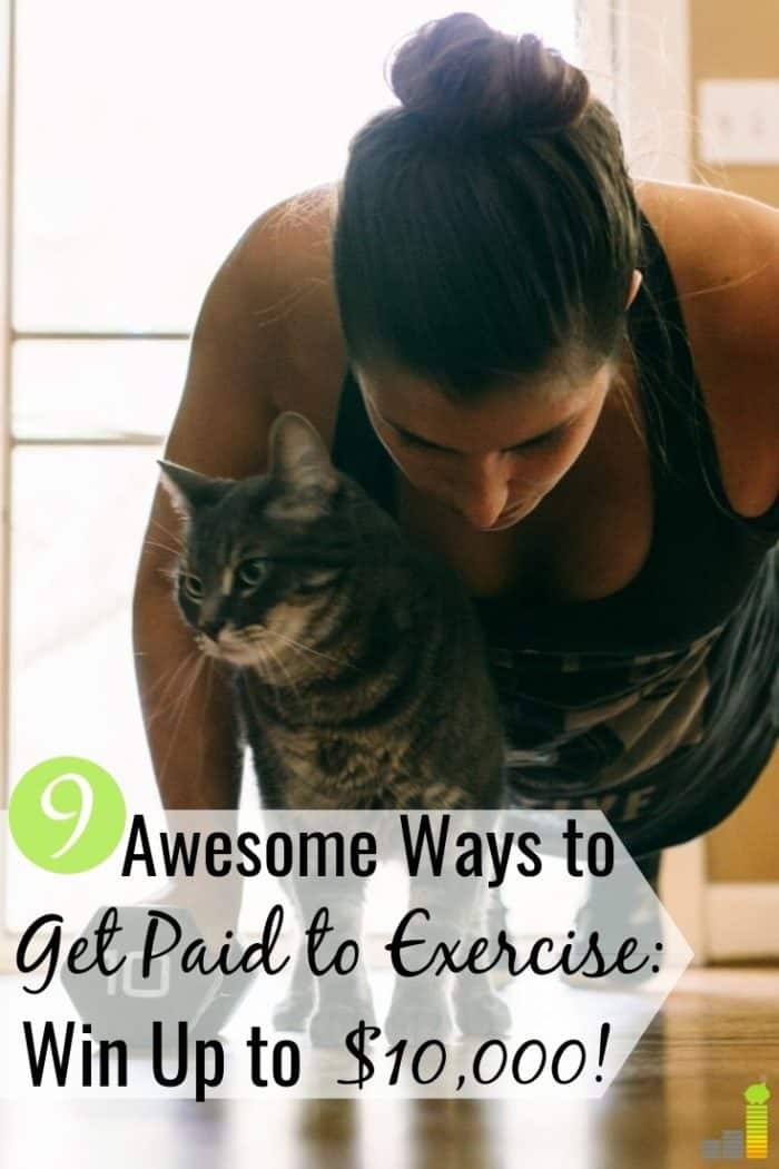 If you struggle to stay fit, you can get paid to exercise to motivate yourself. We share 9 apps that pay you to workout that also help your wallet.