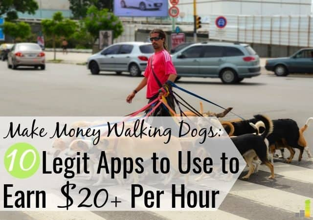 Do you love dogs? Dog walking jobs let you make money while helping furry friends. Here are the 10 best dog walking apps to use to make extra money.