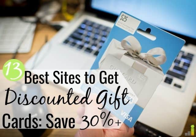 You can buy discounted gift cards online to save on shopping needs. Here are the 13 best places to get discounted gift cards in 2018 to save money.