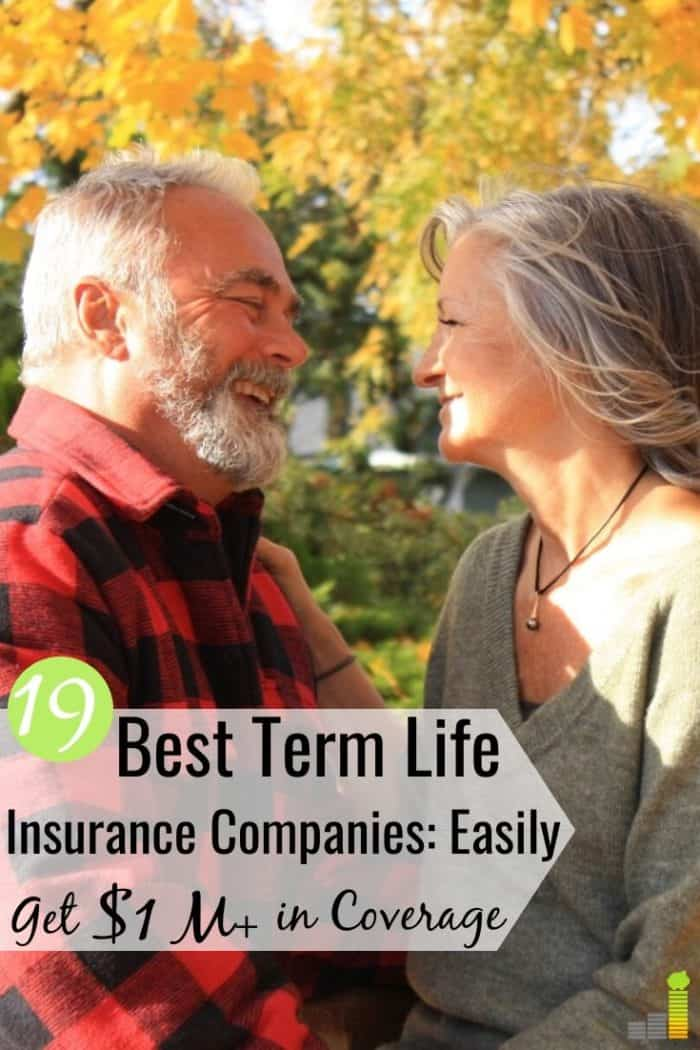 The best term life insurance companies make buying coverage easy. Here are the 19 best rated life insurance companies to buy a cheap term life policy.