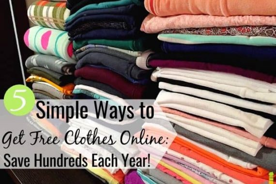 You can get free clothes online to save money. Here are 5 real ways to get free clothes from companies to help lower costs to outfit your family.