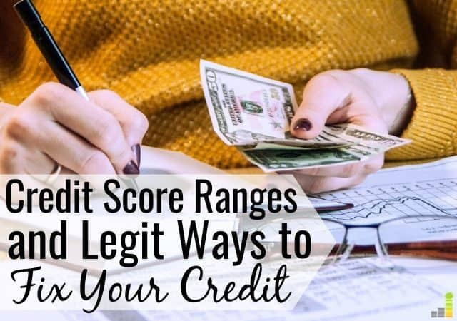 Credit score ranges help lenders decide if they want to give you a loan. Here is the credit score chart and how to improve your credit to save you money.