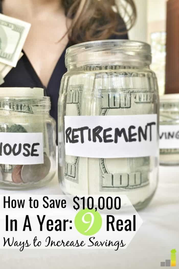 Want to save $10,000 in a year? We share 9 top ways to save $10,000 in one year so you can increase your net worth and achieve financial stability.