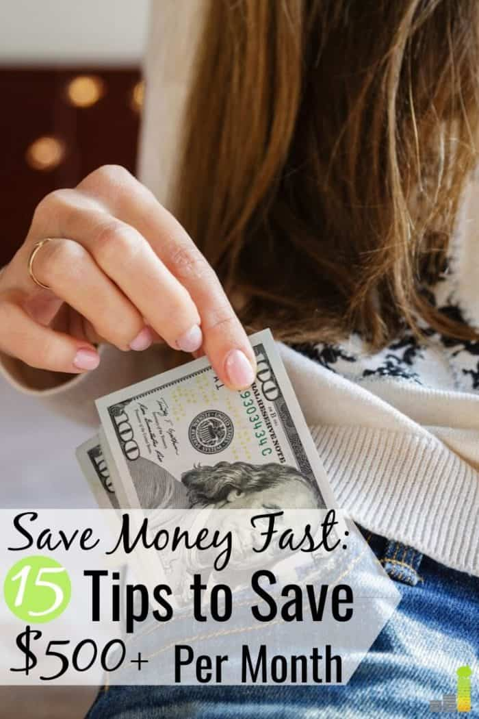 Want to know how to save money on a low income but don't think you can? Here are 15 creative ways to save money anyone can do to improve their finances.