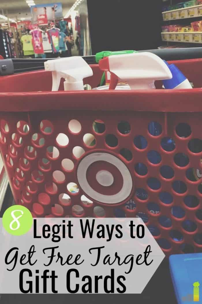 You can get free Target gift cards in many ways. Here are the 8 best apps to earn free Target gift cards to save money on all of your shopping needs.